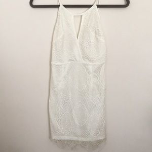 Cream Lace LF Dress